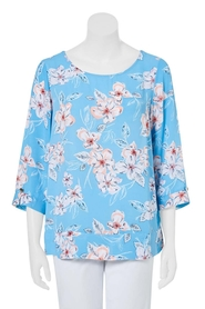 KHOKO SMART Print 3/4 Sleeve Top