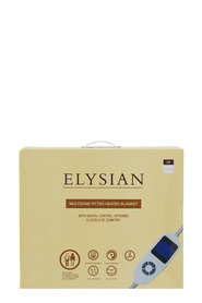 ELYSIAN Elysian Multizone Fitted Electric Blanket Queen