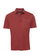 JC LANYON Mens Antique Jersey Polo
