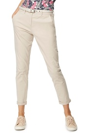 MAINE NEW ENGLAND Chevron Belt Chino Trouser