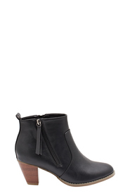 KHOKO Madison Angled Zip Ankle Boot