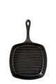 S+N RAW CAST IRON 26CM SQUARE GRILL BLK