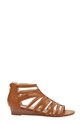 KHOKO PACE LOW WEDGE SANDAL, TAN, 7