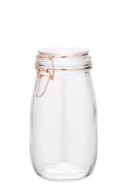 HEIRLOOM GOODS Glass Cliptop Canister 1440ml