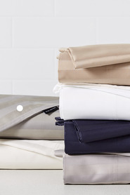 ARDOR 1000 Thread Count Cotton Rich Jacquard Stripe Sheet Set QB