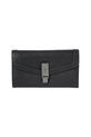 SVVW FLAPOVER CLUTCH WALLET SVW02, BLACK