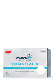 TONTINE CTECH PLAT LATEX PILLOW MED PROF