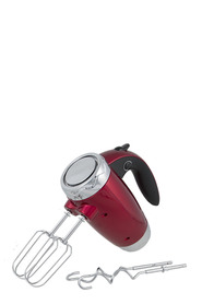 SMITH & NOBEL 6 Speed Hand Mixer 300W Red