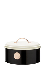 HEIRLOOM GOODS Round Badge  Round Cake Tin 24.5x15 cm