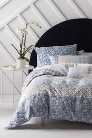 LINEN HOUSE Atheneo Jacquard Quilt Cover Set Queen Bed