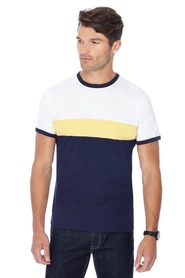 RED HERRING Chest Placement Stripe Tee