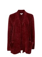 KHOKO COLLECTION Chenille Cardigan