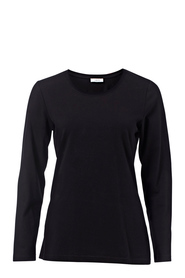 KHOKO BASICS Long Sleeve Cotton Stretch Tee
