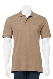 JC LANYON Essential Solid Jersey Polo