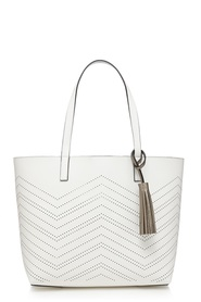 THE COLLECTION Zig Zag Cut Out Shopper