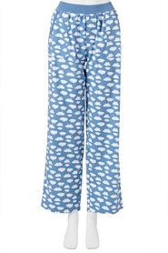 SASH & ROSE WOMENS ROLL CUFF FLANNELETTE PANT