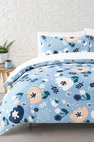 MOZI Tsubaki Cotton Percale Quilt Cover Set DB