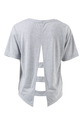 SVVW BACK PANEL TEE SB3358, GRY-MLE, XL