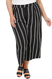 KHOKO PLUS Stripe Wide Leg Pant
