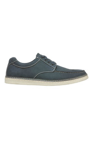 HUSH PUPPIES Jake Leather Boat Lace Up