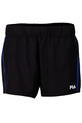 FILA STRETCH WOVEN BIND SHORT, BLACK, S