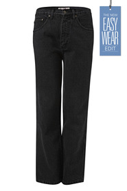 BULLSHEAD Black Regular Leg Denim