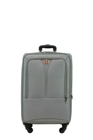 SWISS EQUIP Kotor 71cm 4WD Trolley Case Charcoal