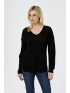 Vee Neck Fashion Knitwear Pullover