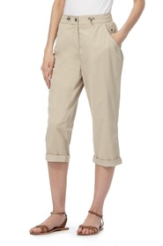 MAINE NEW ENGLAND Cotton Nylon Cropped Trousers