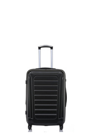 SWISS EQUIP Geneve 58cm 4WD Trolley Case Black