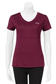 FILA WOMENS TIFFINY HALL MESH TEE