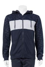URBAN JEANS CO Contrast Splice Hoody