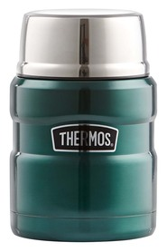 THERMOS  470Ml Stainless Steel King Vaccumn Food Jar Grn