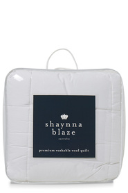 SHAYNNA BLAZE 450gsm Washable Wool Quilt Queen Bed