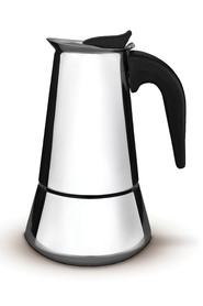 TRAMONTINA Stainless Steel Coffee Maker 10 Cup/500ml