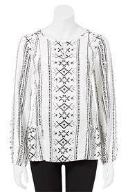 KHOKO COLLECTION Renee Tribal Blouse