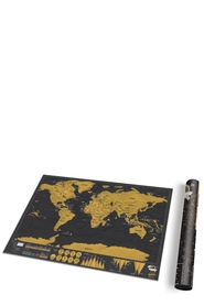 LUCKIES Travel Scratch Map Deluxe Edition