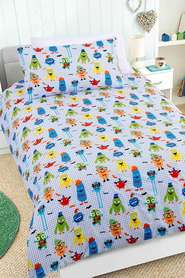 HAPPY KIDS Nice to Meet You Glow in the Dark QuiltCover Set DB
