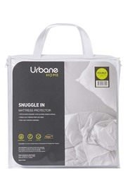 URBANE HOME Snuggle Mattress Protector Queen Bed