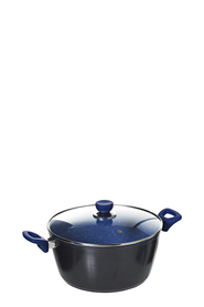 SMITH & NOBEL Pro Stone Blue Casserole 28cm