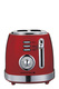 SMITH & NOBEL Retro 2 Slice Toaster Red