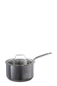 S+N PVD COATED GMETAL SAUCEPAN 20CM GREY