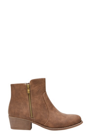 KHOKO Michelle side zip ankle boot