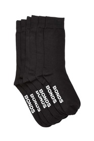 BONDS 3 Pack Oxford Crew Sock