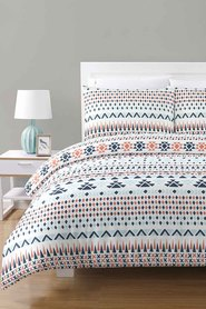 URBANE HOME Hayes Polycotton Quilt Cover Set Queen Bed