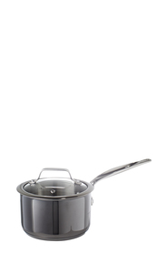 S+N PVD COATED GMETAL SAUCEPAN 16CM GREY