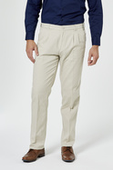 Pleated Chinos