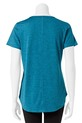 LMAA SPACE DYE SCOOP TEE LMA6, FOREST, S