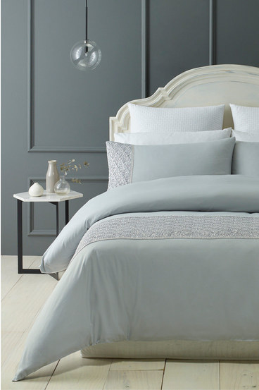 PHASE 2 Charlene Soft Touch Microfibre Quilt Cover Set QB   Tuggl