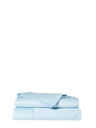 GAINSBOROUGH 300 Thread Count Cotton Percale Sheet Set King Single Bed